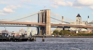 most Brooklyn, nowy jork zdjęcia royalty free
