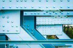 Most budujący z metalem zdjęcia stock