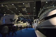 The most comprehensive and largest meeting of the maritime sector Istanbul 14. Cnr Eurasia Boat Show 2019 opened its doors splendi. Cnr Expo held in Yesilkoy 14 stock photos