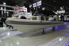 The most comprehensive and largest meeting of the maritime sector Istanbul 14. Cnr Eurasia Boat Show 2019 opened its doors splendi. Cnr Expo held in Yesilkoy 14 stock images