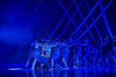 """The most critical moment-Dance drama """"The Dream of Maritime Silk Road"""" Royalty Free Stock Photography"""
