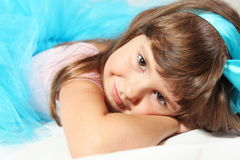 Most Cute Smiling Girl Portrait Stock Images