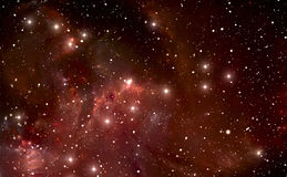 Most Detailed Space Nebula Royalty Free Stock Image