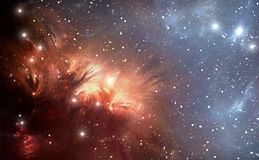 Most Detailed Space Nebula Royalty Free Stock Photography