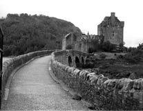 most do zamku Zdjęcie Royalty Free