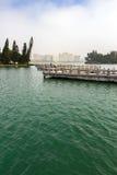 Most Dziewięć zwrotów fotografia stock