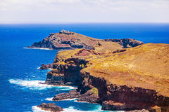The most easterly point on Madeira Royalty Free Stock Photo
