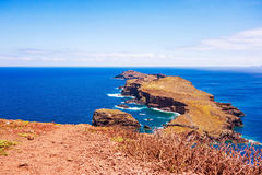 The most easterly point on Madeira Stock Photo