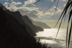 Napali coast hike Royalty Free Stock Photo