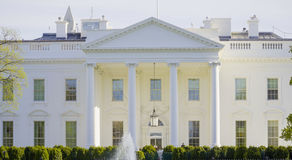 Most famous address in the United States - The White House - WASHINGTON DC - COLUMBIA - APRIL 7, 2017 Stock Image
