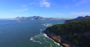 The most famous city in the world. Rio de Janeiro city. Brazil South America stock video footage