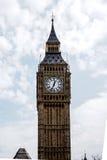 The most famous London landmark Big Ben clock tower with blue sky Stock Photos