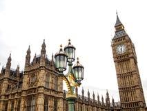 The most famous London landmark Big Ben clock tower Stock Photos