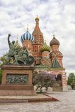 Most famous Russian Cathedral on the Red Square Royalty Free Stock Images