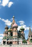 Most famous Russian Cathedral on the Red Square Stock Photo