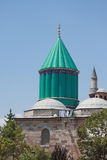 The most famous tower of Mevlana museum in Konya Royalty Free Stock Images