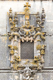 The most famous window in manuelino-style, Christ Convent cloist Stock Image