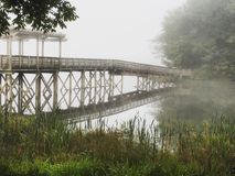 Most gdzieś w Gruzja Obrazy Stock