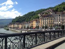 Most Grenoble Zdjęcie Royalty Free