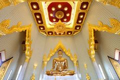 The most highest intrinsic value gold Buddha Royalty Free Stock Image