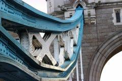 Most i linia boczna zdjęcia stock