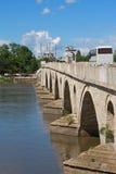 Most i meczet w Turcja zdjęcie stock