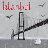 most Istanbul bosfor Obrazy Royalty Free