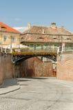 Most kłamstwa W Sibiu Zdjęcia Stock