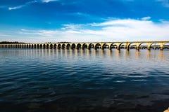 Most Kapitałowa wyspa Zdjęcia Royalty Free