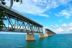 most kluczowym zachód Obraz Royalty Free