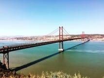 Most 25 Kwiecień Zdjęcia Stock
