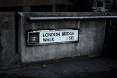 most London stara łódź Obrazy Stock