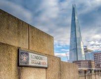 most London stara łódź Obraz Royalty Free