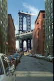 most Manhattan, nowy jork fotografia royalty free