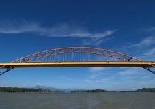 most Mann portu Zdjęcia Stock
