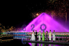 The Most Memorable is Hangzhou. HangZhou China-September 4th 2016: The key participants of the G20 Hangzhou Summit watch the symphony concert `The Most Memorable stock images
