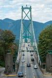 Most na autostradzie Zdjęcie Royalty Free
