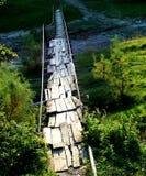 most na obszarach wiejskich Zdjęcie Royalty Free