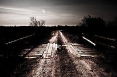 most na obszarach wiejskich Obraz Royalty Free