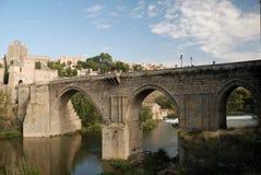 most na rzece Tagus Toledo Fotografia Royalty Free