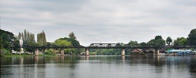 Most na Rzecznym Kwai Obrazy Stock