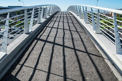 Most nad autostradą Fotografia Stock