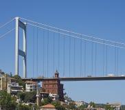 Most nad Bosporus, Istanbuł Obrazy Stock