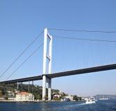 Most nad Bosporus, Turcja Zdjęcie Stock