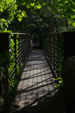 Most Nad Derwent przy Wysokiego szczytu złączem Zdjęcia Royalty Free