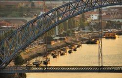Most nad Douro rzek? w Porto fotografia royalty free