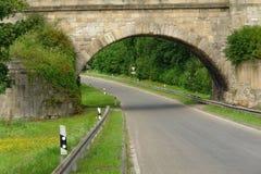 Most nad drogą Zdjęcia Stock