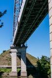 Most nad kanałem Obraz Stock