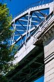 Most nad kanałem Zdjęcia Stock