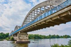 Most nad Loire w Francja obrazy royalty free